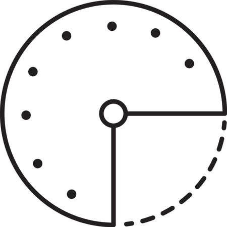 시계 아이콘 일러스트