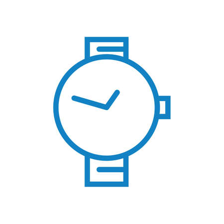 wristwatch icon Stock Vector - 77439480