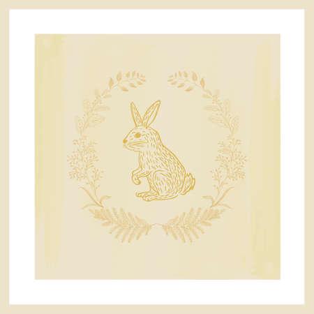 rabbit design Illustration