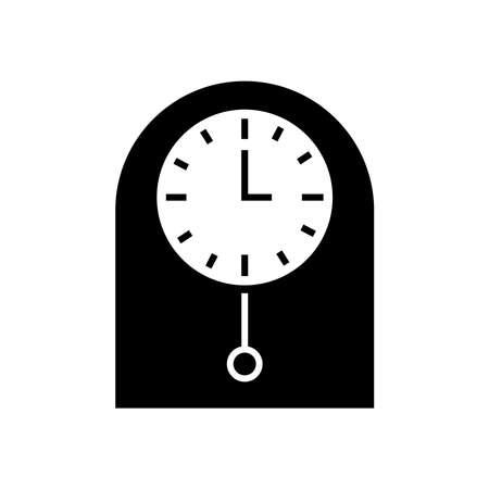 振り子時計のアイコン 写真素材 - 77507473