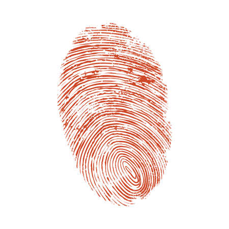 thumb print Illustration