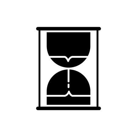 hourglass icon Stock Vector - 77508242