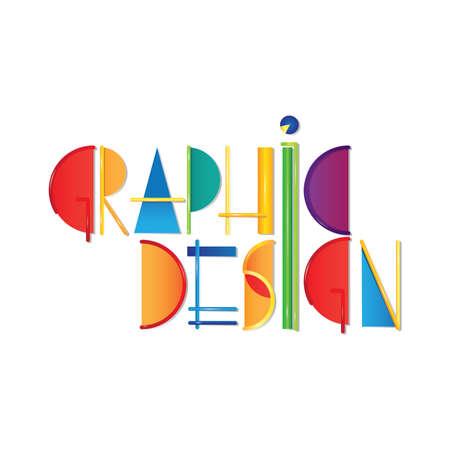 graphic design lettering design Çizim
