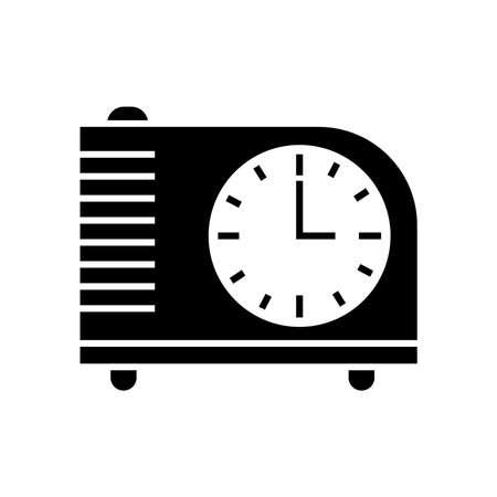 ヴィンテージ時計のアイコン 写真素材 - 77479462