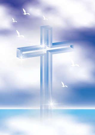 Crucifijo  Foto de archivo - 77345381