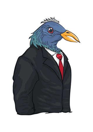 eagle character Illustration