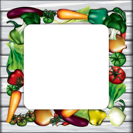 vegetables layout with copyspace Фото со стока - 77345448