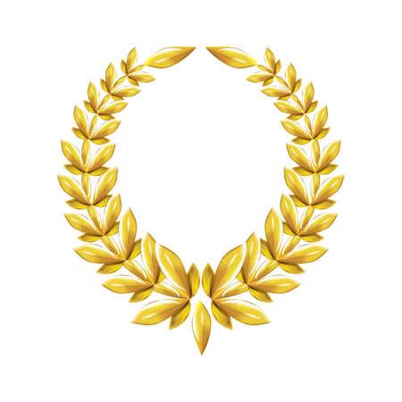glamorous: laurel wreath