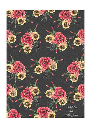 花の背景 写真素材 - 77345208