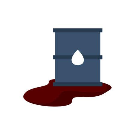 disaster: toxic waste Illustration