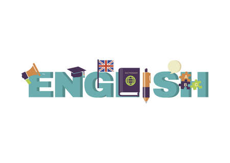 Engels lettering ontwerp