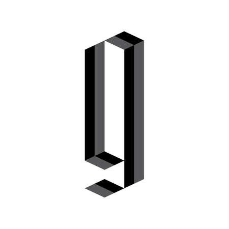 手紙 g  イラスト・ベクター素材