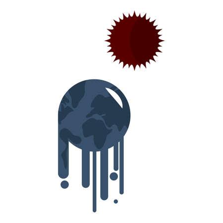 Erderwärmung Standard-Bild - 79152018