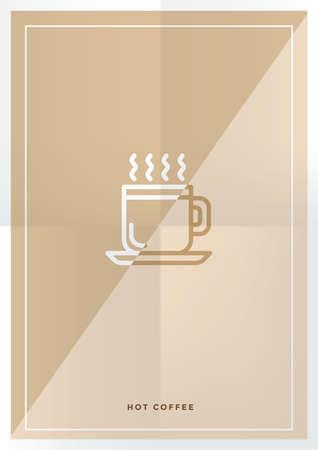hot coffee design