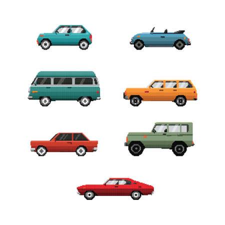 Sammlung von Fahrzeugen Standard-Bild - 79152120