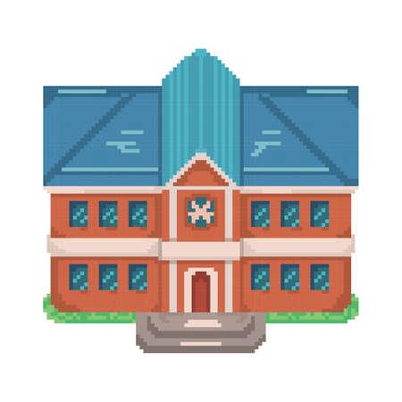 학교 건물