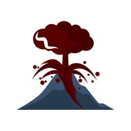 Erupción volcánica Foto de archivo - 79152212