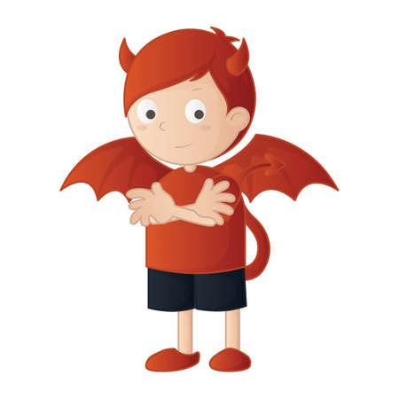 jongen duivels karakter