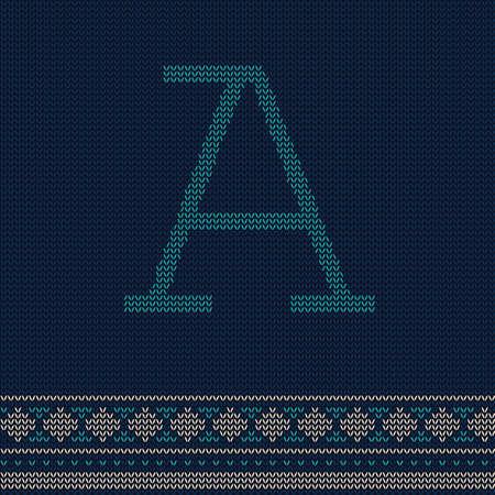 letter a Иллюстрация
