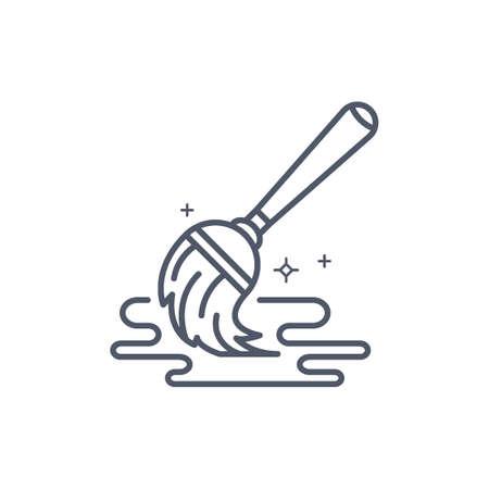 モップを洗浄