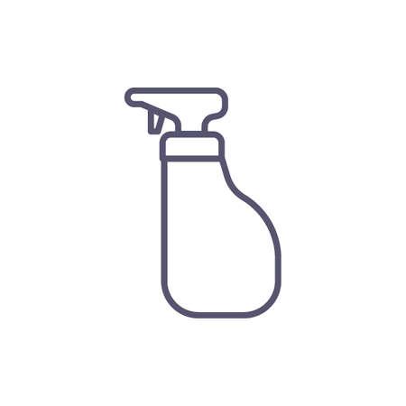 spray bottle Illustration