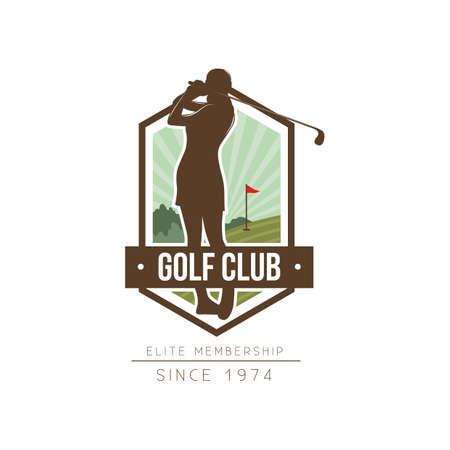 golfclub logo element ontwerp Logo