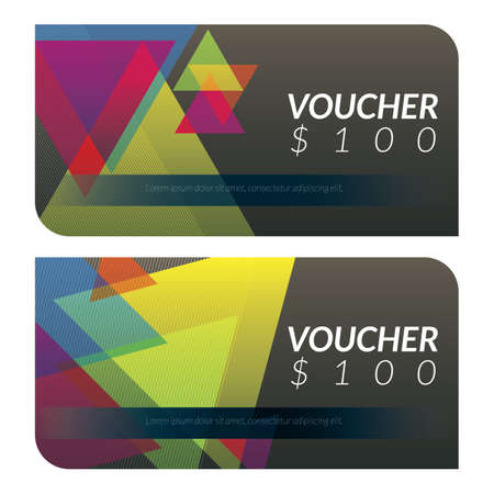 gift vouchers Stock Vector - 79152397