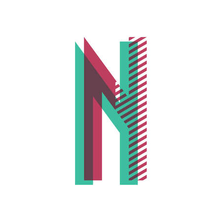 Letter n Ilustração