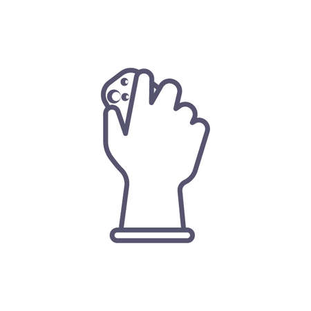 hand cleaning Illustration