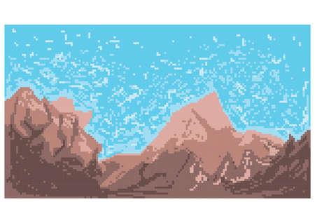 ゲームの背景の概念  イラスト・ベクター素材
