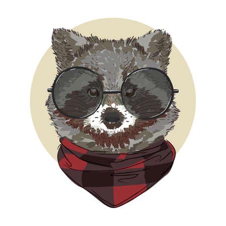 Wasbeer karakter Stockfoto - 79152516