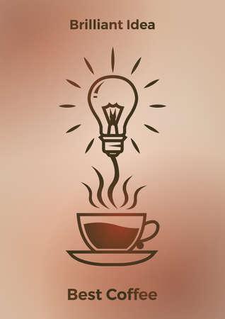 brilliant idea coffee design