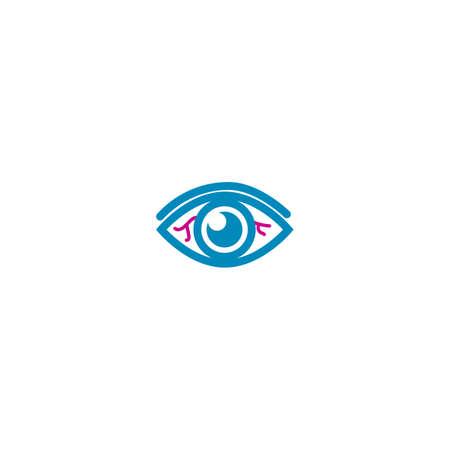 Eye pain concept
