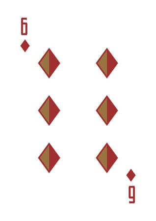 six of diamonds