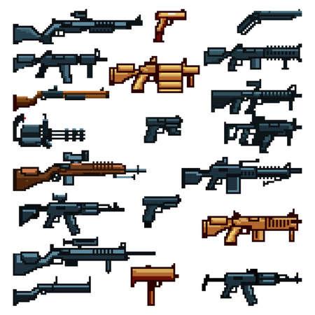 reeks aanvalswapens