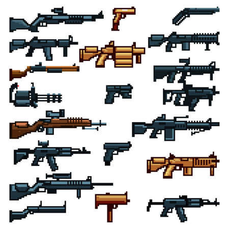 set of assault weapons