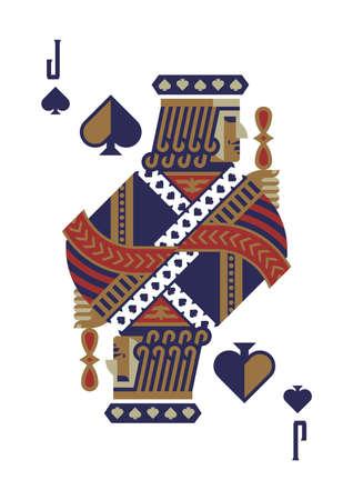 jack of spades Иллюстрация