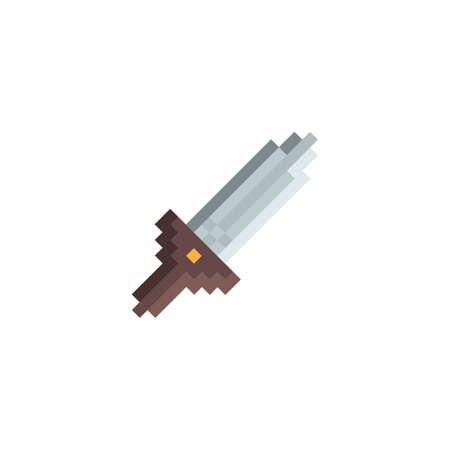 pixelated sword