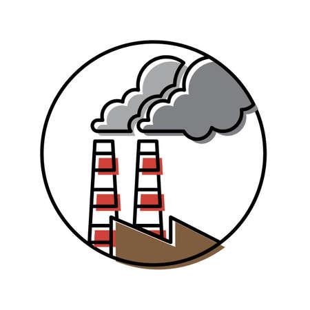 工場  イラスト・ベクター素材