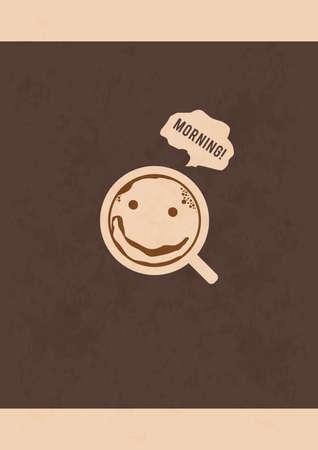 morning coffee design