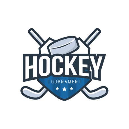hockey logo element design