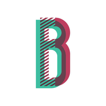 letter b Ilustração