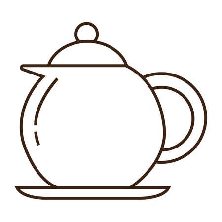teapot Иллюстрация