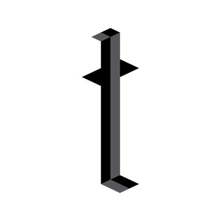 letter t Illusztráció