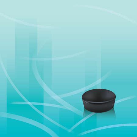 ice hockey puck design