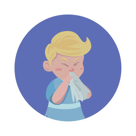 kid feeling sick