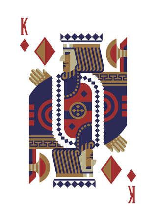 König der Diamanten Standard-Bild - 79187254