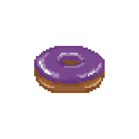 donut with glaze