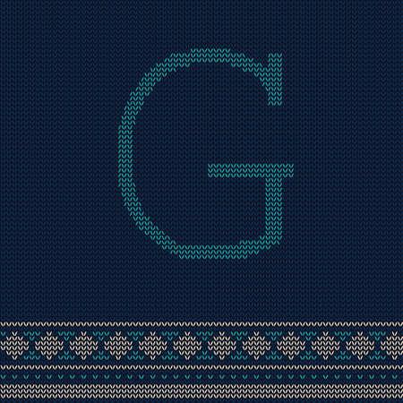 letter g Иллюстрация