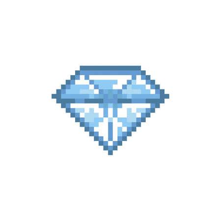 pixelated diamond